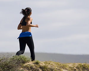Image of woman jogging