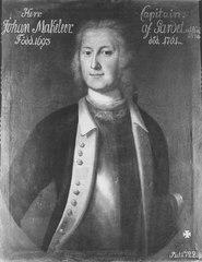 painting of Johan Adolf Makeleer
