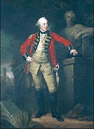 Battle of Hondschoote - Johann Ludwig von Wallmoden