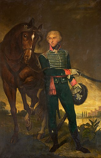 John Leicester, 1st Baron de Tabley - Sir John Fleming Leicester as colonel of yeomanry