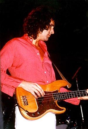 John Illsley - Illsley playing with Dire Straits, June 1979