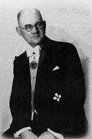 John Heinrich Detlef Rabe (1882–1950).