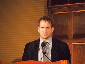 John Freeman (author) - Freeman at New York book signing, 2013