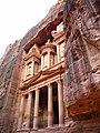 Jordan, Petra, (The Treasury of the Pharaoh -detail 10); DSCN1156.jpg