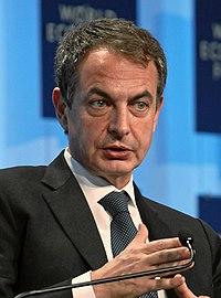 José Luis Rodríguez Zapatero en el Foro Económico Mundial (cropped) 2.jpg