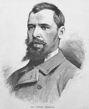 Josef Václav Myslbek - J. V. Myslbek, by Jan Vilímek (1883)