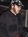 Joshua Cain, guitarist of Motion City Soundtrack, Newcastle University in 2006.jpg