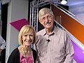 Judy Woodruff and Francis Collins at Spotlight Health Aspen Ideas Festival 2015.JPG