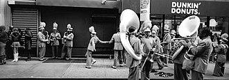 Jules T. Allen - Image: Jules Allen Photograph Marching Band 03
