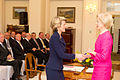 Julie Bishop being sworn in as Foreign Minister by Quentin Bryce 01.jpg