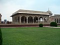 July 9 2005 - The Lahore Fort-Hall of special audience-view from the garden.jpg