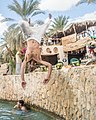 Jumping in Cleopatra's Pool.jpg