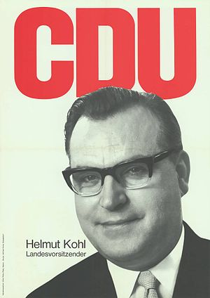 Helmut Kohl - Kohl as the CDU Rhineland-Palatinate state party chairman