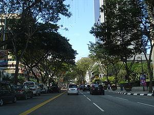 Jalan Raja Laut - Jalan Raja Laut in Kuala Lumpur on a typical weekday afternoon.