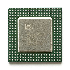 Intel i960 - Intel GC80960RN, sSpec: SL3YW, BGA Package