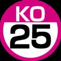 KO-25 station number.png