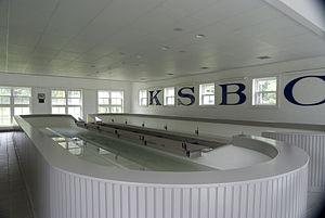 Kent School Boat Club - Indoor rowing tanks at Kent School.