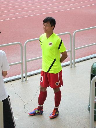 Lo Kwan Yee - Lo Kwan Yee playing for Hong Kong in 2011