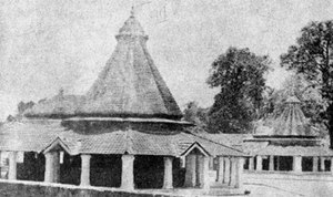 The birth place of Adi Shankara at Kalady in K...