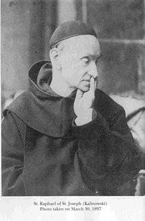 Raphael Kalinowski Polish Discalced Carmelite friar and saint