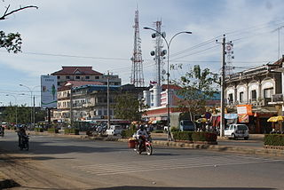 Kampong Thom city City in Kampong Thom, Cambodia