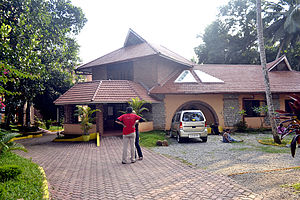 Kanthari international - A view of the campus office from the front entrance