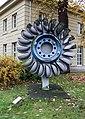 Karlsruhe, Laufrad einer Pelton-Turbine -- 2013 -- 5253.jpg
