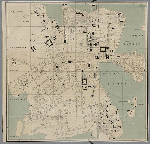 File:Karta öfver Helsingfors 1860.jpeg