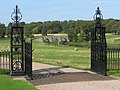 Kedleston Hall - Front Gates - geograph.org.uk - 1508198.jpg