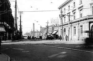 Keele Street - Keele and Dundas in 1923