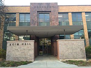 Steele, Sandham and Steele - Keim Hall
