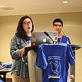 Kelly Doyle introduces Kevin Payravi at WMNA keynote jeh.jpg
