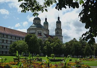 Imperial Abbey of Kempten - Residence and St Lawrence Church