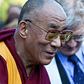Ken Robinson and the Dalai Lama at the Vancouver Peace Summit.jpg