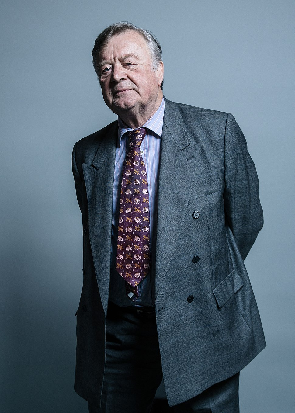 Kenneth Clarke MP - official photo 2017