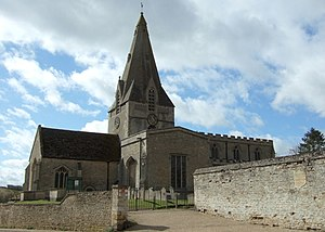 Kings Cliffe, Northamptonshire - King's Cliffe church