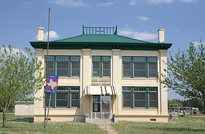 Guthrie, Texas - King County Courthouse in Guthrie