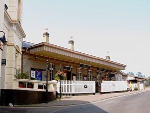 Kingswear railway station - Image: Kingswear station