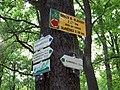 Klánovický les, rozcestník Nové Dvory.jpg