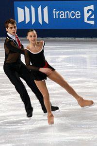 Klara Kadlecova Petr Bidar 2010 Trophée Eric Bompard.JPG
