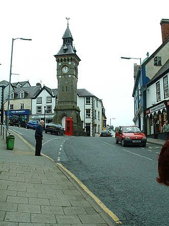 Knighton, Powys - Clock Tower