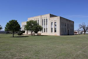 Benjamin, Texas - Knox County Courthouse in Benjamin