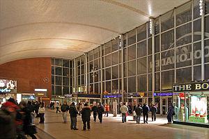 Köln Hauptbahnhof - The station hall