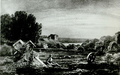 Koknese graveyard and castle in 1833 v2.png