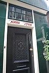 koog aan de zaan, raadhuisstraat 36 - rm39941 deurkalf achter