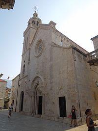 Korcula, cathedral St. Mark.JPG