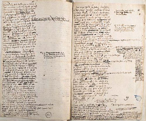 Leibniz's correspondence, papers and notes from 1669 to 1704, National Library of Poland.