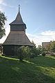 Kostel sv. Václava a sv. Stanislava (Měník) - zvonice.JPG