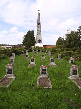 8th Guards Combined Arms Army - Memorial cemetery to Soviet soldiers in the Battle of Küstrin in 1945)