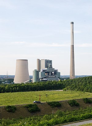 Evonik Industries - Evonik Industries operated Bergkamen Power Station